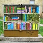 bell box  bookcase